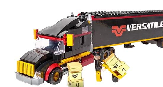 Picture of Versatile Semi-Truck & Trailer Building Blocks - VE-89002921
