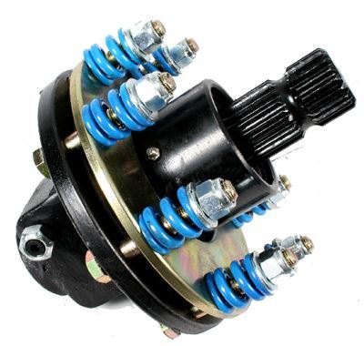 "Picture of 100HP Capacity 4 Plate Clutch 1.3/4"" x 20 SPL Male / 1.3/4"" x 6 SPL Female - B7257"