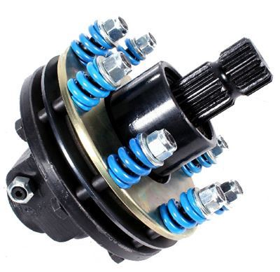 "Picture of 150HP Capacity 4 Plate Clutch 1.3/4"" x 20 SPL Male / 1.3/8"" x 6 SPL Female - B7253"