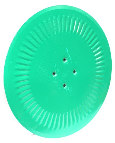 "Picture of 20"" Fluted Coulter Disc (4 Holes) - KV-KK076407R"
