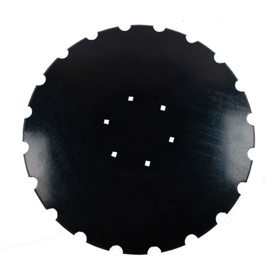 "Picture of 20"" x 4mm Notched Disc Blade - To suit HEVA - MI-DBS202"