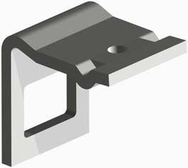 Picture of Clamp 45x12mm - 50x50mm Frame + Helper Spring - MI-PF303603
