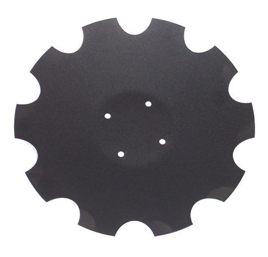 "Picture of 18"" Scalloped Disc Blade - MI-XL-043"