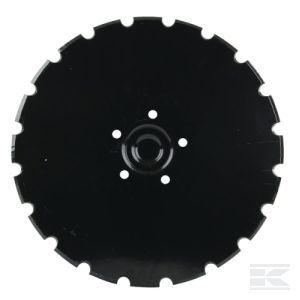 Picture of 410mm x 5mm Notched Conical Seed Drill Disc - MI-451372-L