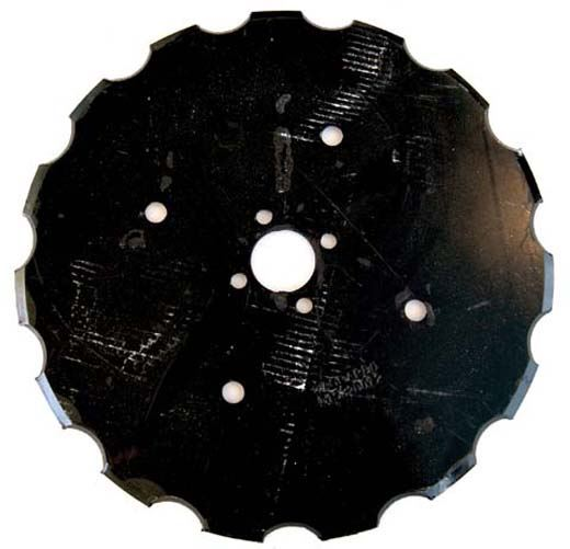 Picture of 475mm x 6mm Flat Notched Disc - MI-DSD475N