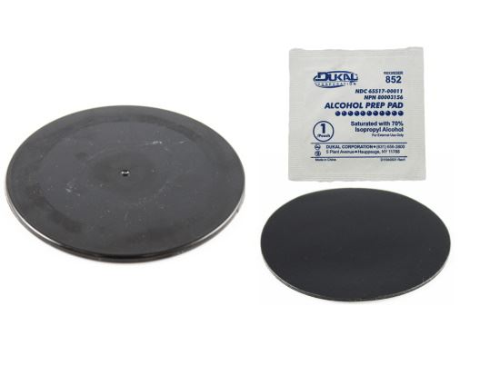 "Picture of RAM Black 3.5"" Adhesive Plate for Suction Cups - MI-RAP-350-35B"