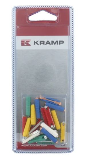 Picture of Ceramic Fuse Assortment Pack - 25mm (20 Piece) - KR-KRFUSESP020