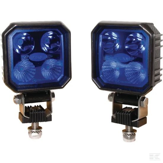 Picture of LED Work Light Set - Blue - 9W - Deutsch Plug - KR-LA10001
