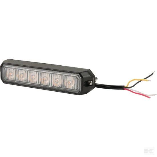 Picture of LED Flashing Light - 18W - 6 LED - KR-LA20014