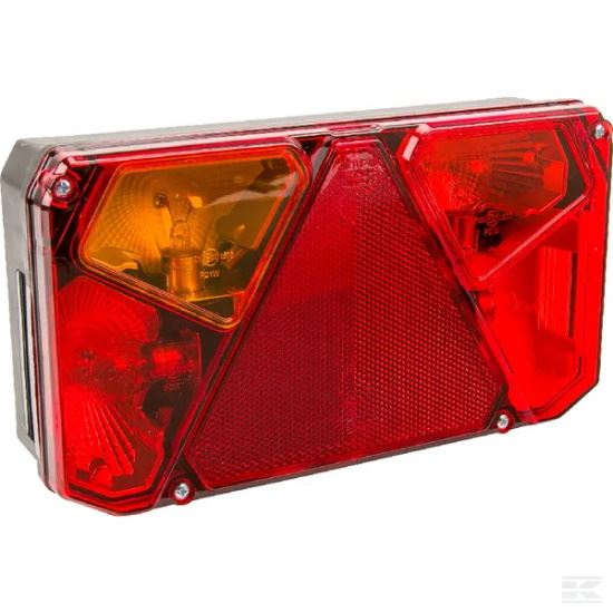 Picture of Halogen Rear Light LH - Multifunction - Rectangular - 12/24V - KR-LA40907
