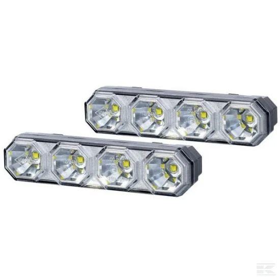 Picture of LED Daytime Running Light Set - 6W - 4 LED - KR-LA80030
