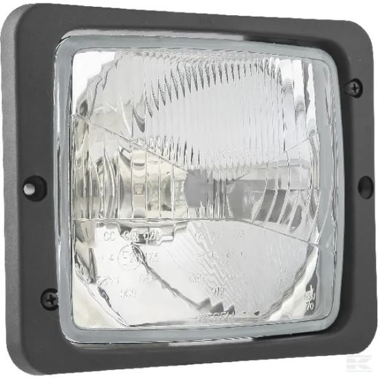 Picture of Halogen Headlight - H4 - 172mm x 142mm - KR-LA80156