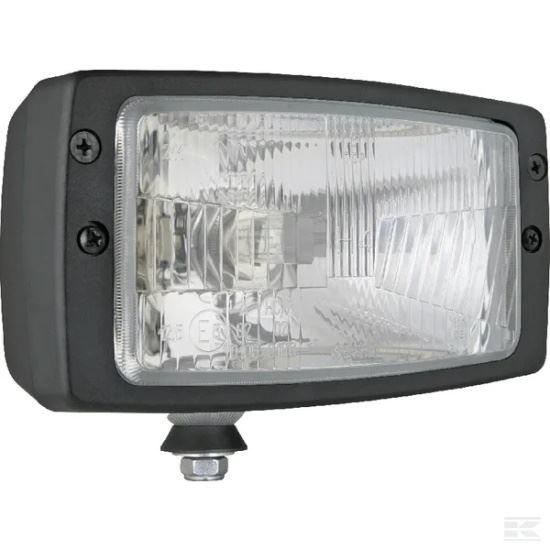 Picture of Halogen Headlight - H4 - 184mm x 102mm - KR-LA80163