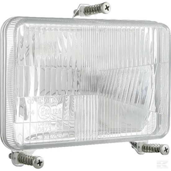 Picture of Halogen Headlight - H4 - 168mm x 106mm - KR-LA80166