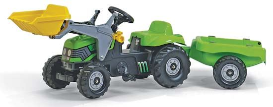 Picture of Deutz-Fahr 5115 with Loader & Trailer - MI-M03D071