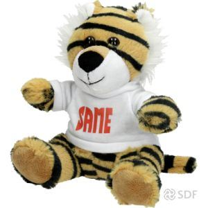 Picture of SAME Tiger Soft Toy - MI-M03S034