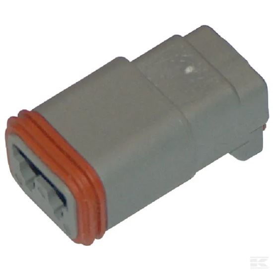 Picture of Deutsch Plug Housing - 2 Pole - Female DT - KR-DSDT062S