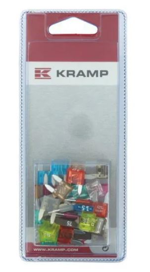 Picture of Mini Blade Fuse Assortment Pack (40 Piece) - KR-KRMINIFUSESP040