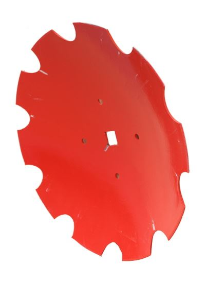 """Picture of 26"""" Disc Blade Scalloped with 4 Holes - KV-RF28009"""