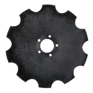 """Picture of 22"""" (570mm) x 6mm Scalloped Disc Blade - MI-80388-L"""