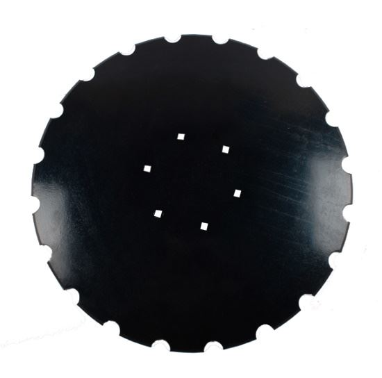 """Picture of 20"""" x 4mm Notched Disc Blade - To suit HEVA - MI-DBS202"""