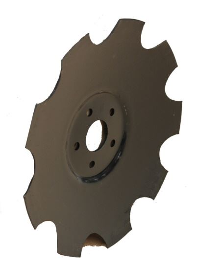 """Picture of 18"""" Disc Blade Scalloped - SB-820-481C"""