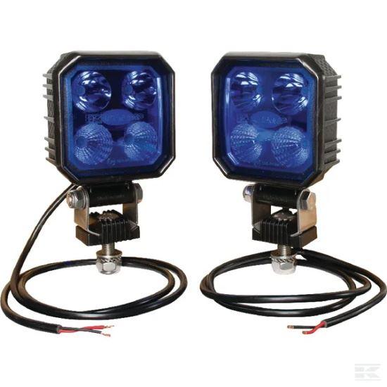 Picture of LED Work Light Set - Blue - 9W - 50cm Cable - KR-LA10002