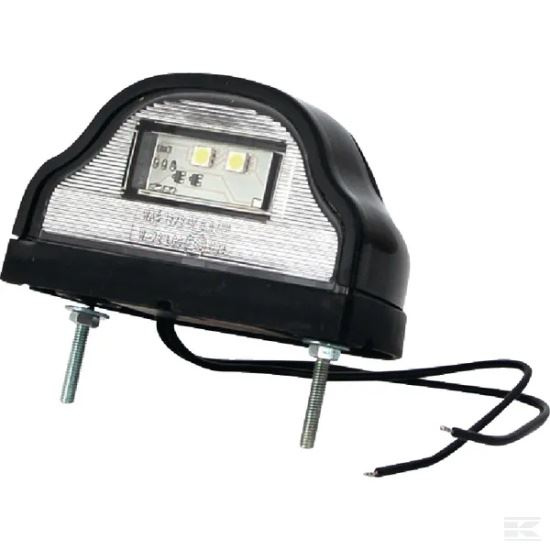 Picture of LED Number Plate Light - Black - 12/24V - KR-LA41002