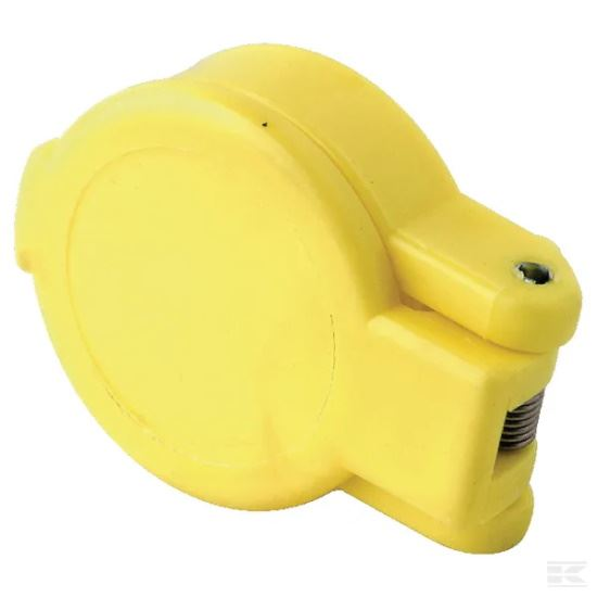 """Picture of Dust Cap Yellow 1/2"""" - KR-SKV9F124"""