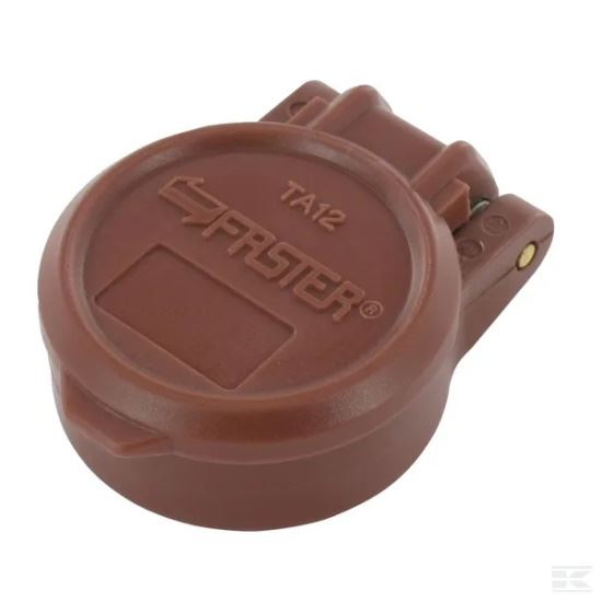 """Picture of Auto Dust Cap 1/2"""" Brown - KR-TA12M"""