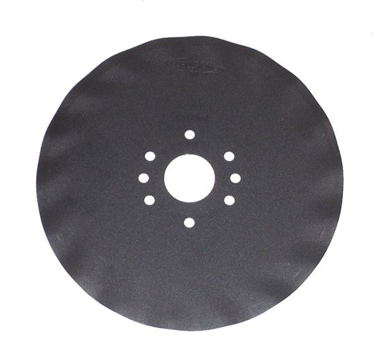 """Picture of 12.5"""" Fluted Disc Blade - MI-22035-L"""