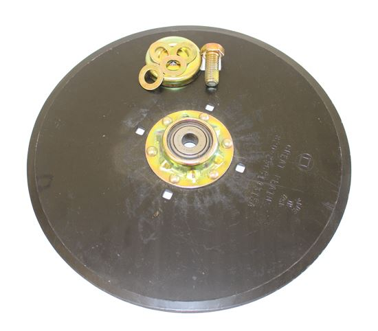"""Picture of 13.5"""" Disc Blade Assembly (4mm) with Hardware - SB-107-140A"""