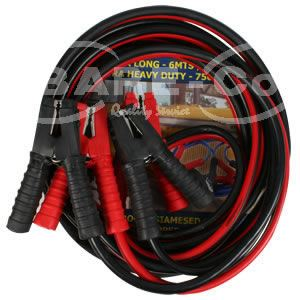 Picture of Heavy Duty Booster Cable 750 Amp x 6m - B187
