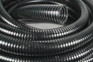 """Picture of 76mm (3"""") Clear PVC Air Seeder Hose - B2499"""