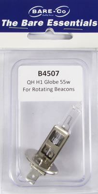 Picture of Bare Essentials 12v 55W Halogen H1 Bulb - B4507