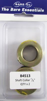 """Picture of Bare Essentials 7/8"""" Shaft Lock Collar (Qty2) - B4513"""