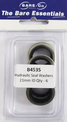 """Picture of Bare Essentials 1/2"""" BSP Bonded Seal Washer (Qty 6) - B4535"""