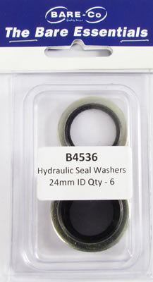 """Picture of Bare Essentials 5/8"""" BSP Bonded Seal Washer (Qty 6) - B4536"""