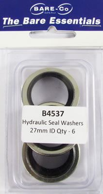 """Picture of Bare Essentials 3/4"""" BSP Bonded Seal Washer (Qty 6) - B4537"""
