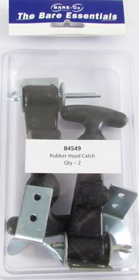 Picture of Bare Essentials Rubber Hood Catch (Qty 2) - B4549