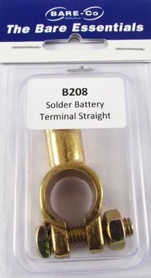 Picture of Straight Entry Solder Battery Terminal - B208