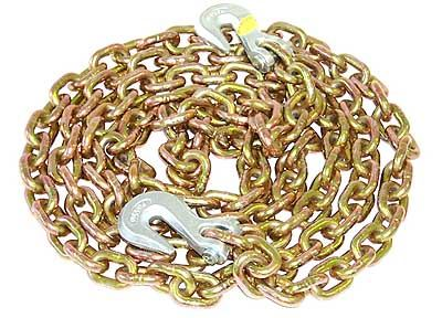 Picture of High Tensile Transport Chain 7mtr x 6mm with Grab Hooks - B7422