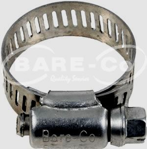 """Picture of Hose Clamp 3 1/2"""" Stainless Steel"""