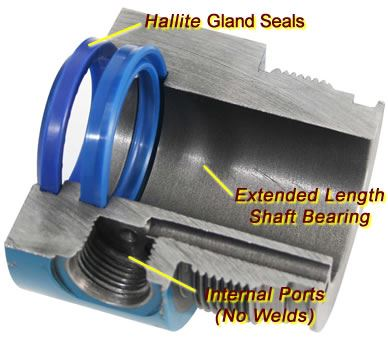 """Picture of Blue Line Cylinder Seal Kit 3"""" - B88422"""