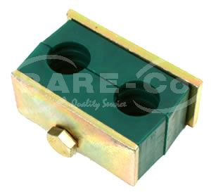 """Picture of Double Hose Block 3/4""""x 3/8"""" - B4319"""
