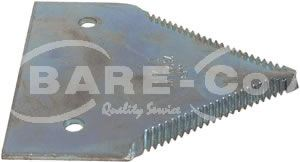 Picture of Knife 2.8mm Black O Series for Claas Models - B4136