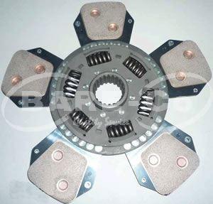 Picture of Ceramic Clutch Plate 327mmx45mm 21SPL for Deutz Models - B9231