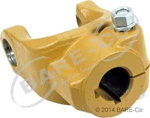 """Picture of Round Bore Clamp Yoke 1 1/2""""x1/4+3/8"""" Imperial (W2400 Series) - AE035338"""
