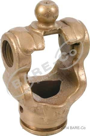 Picture of Wide Angle Outer Tube Yoke 61mm W2580 Series - AG366261