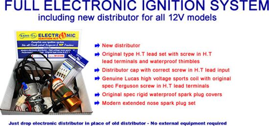 Picture of Complete Electronic Ignition Kit - B12346
